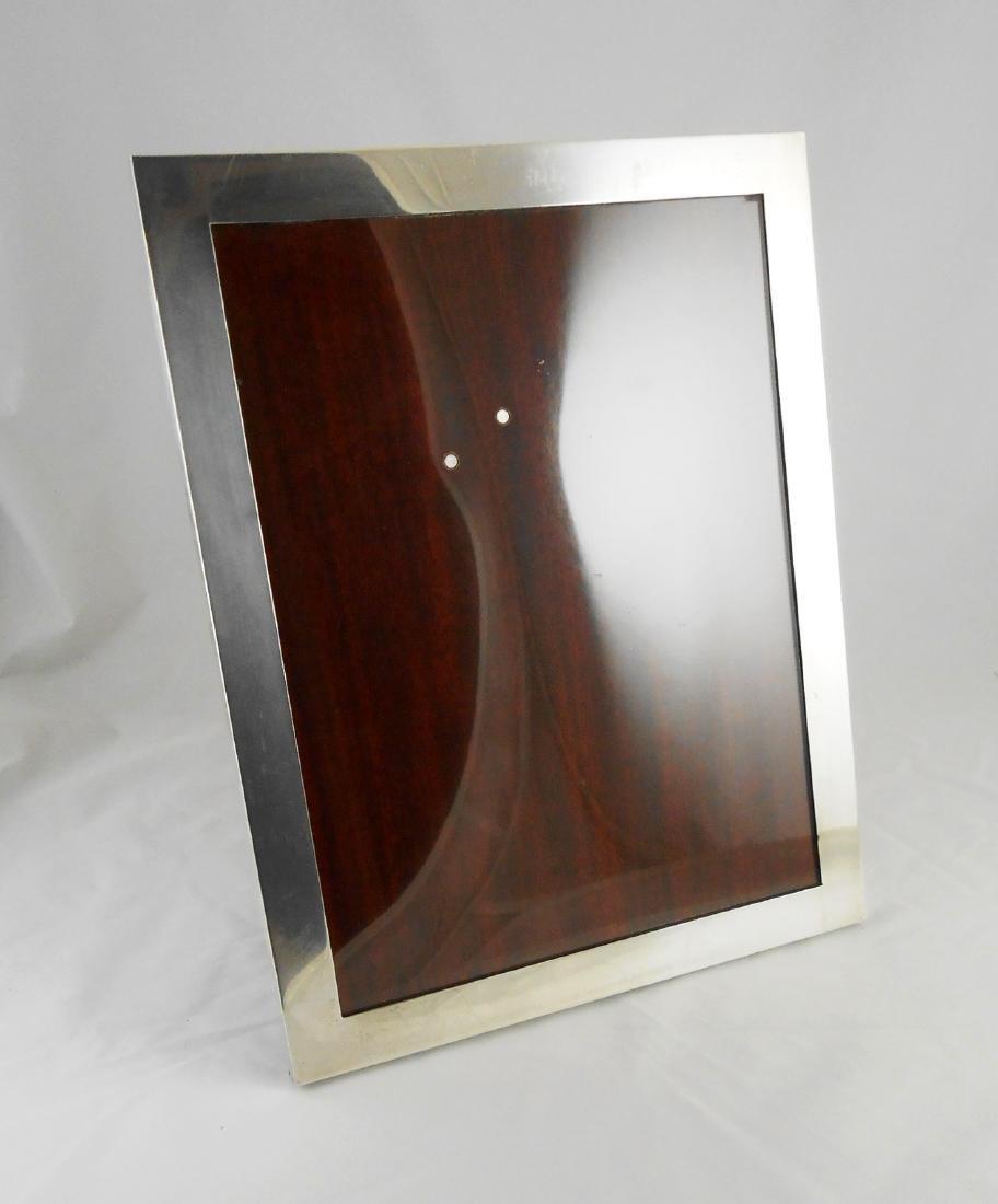 Vintage Handmade Sterling Silver Picture Frame