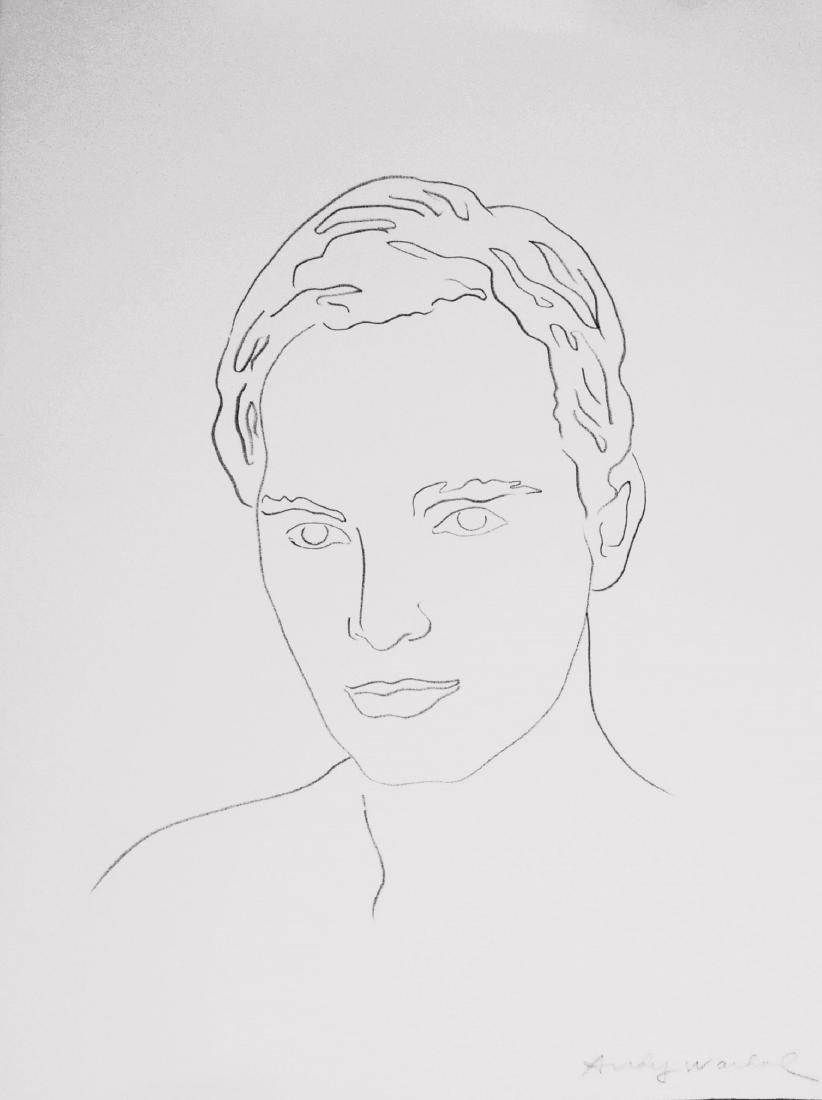 Andy Warhol (1928-1987) Pencil Drawing