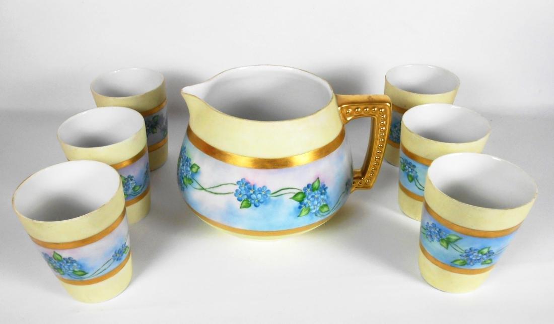 Vintage Porcelain Lemonade Set
