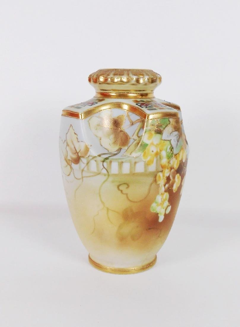 Nippon Handpainted Vase