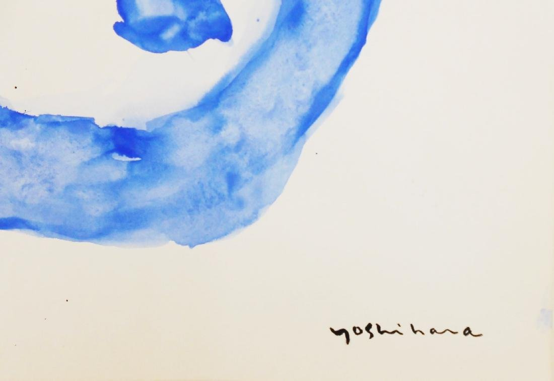 Jiro Yoshihara (1905-1972) Watercolor & Black Ink - 3