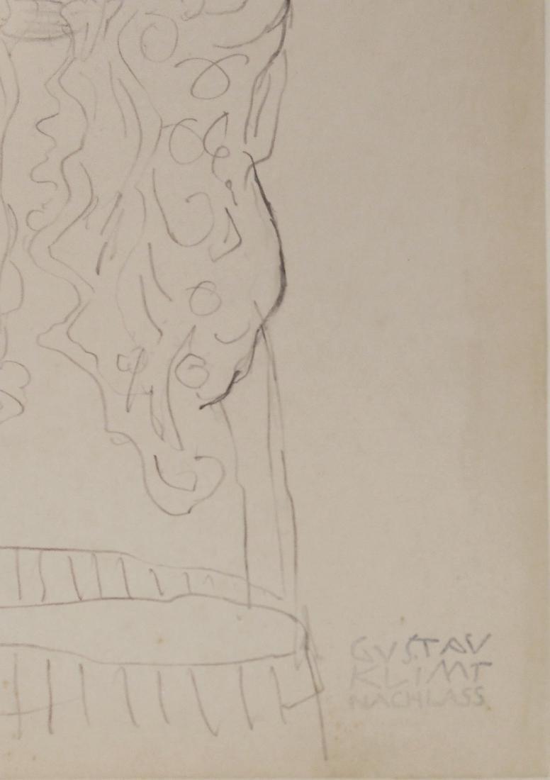 Gustav Klimt (1862-1918) Pencil Drawing - 2