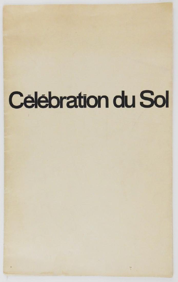 "Jean Dubuffet, ""Celebration du Sol"", Signed Copy"