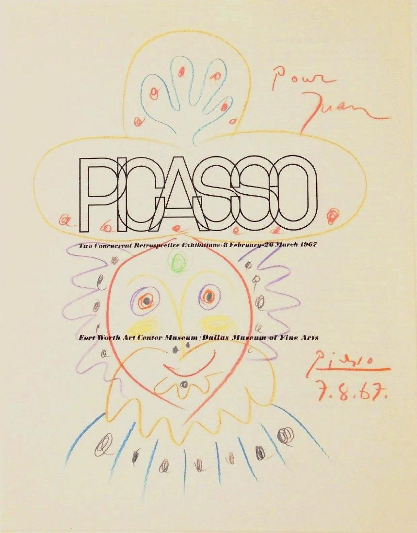 Pablo Picasso (1881-1973) Catalog Drawing