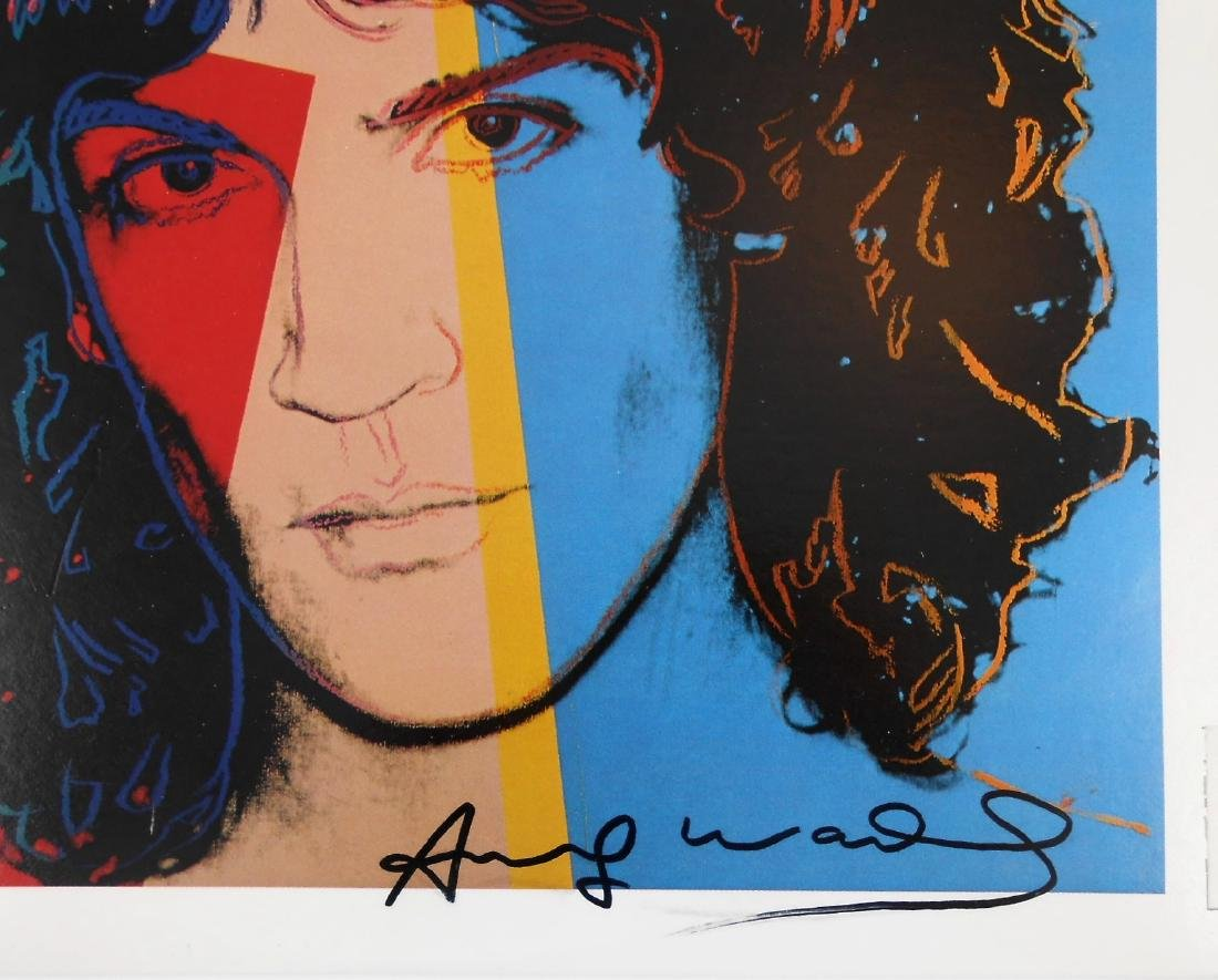 Andy Warhol (1928-1987) Record Album, Signed - 2