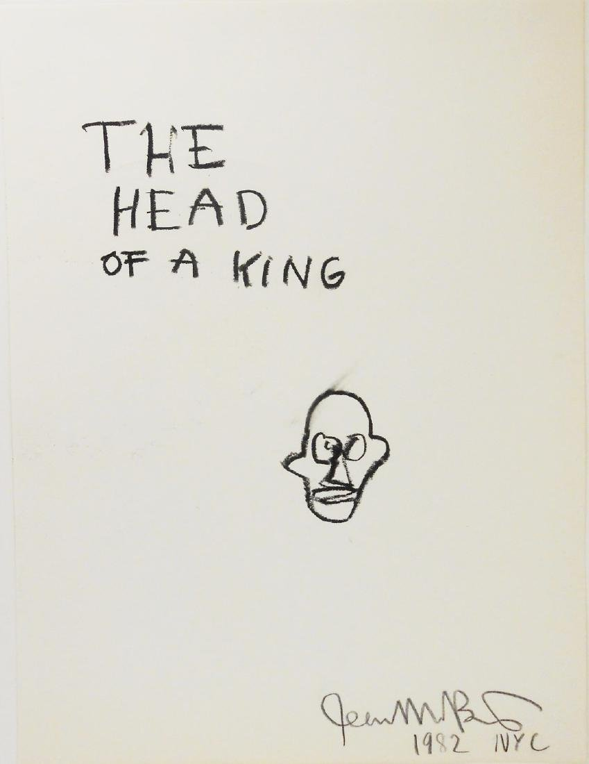 Jean-Michel Basquiat (1960-1988) Drawing