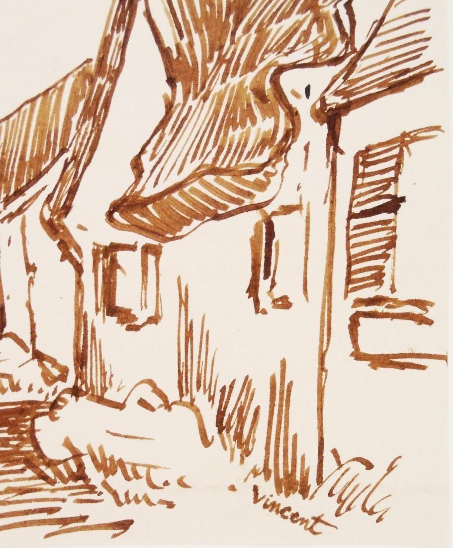 Vincent Van Gogh (1853-1890) Pen & Ink - 2