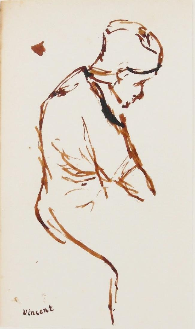 Vincent Van Gogh (1853-1890) Pen & Brown Ink