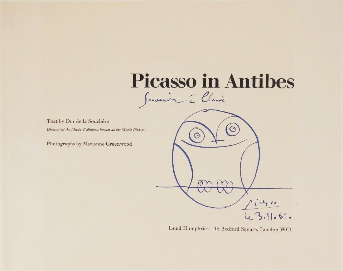 Pablo Picasso (1881-1973) Souvenir Illustration