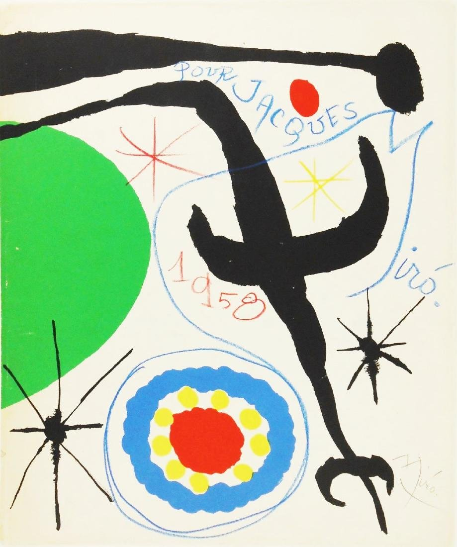 Joan Miro (1893-1983) Hand Embellished Print