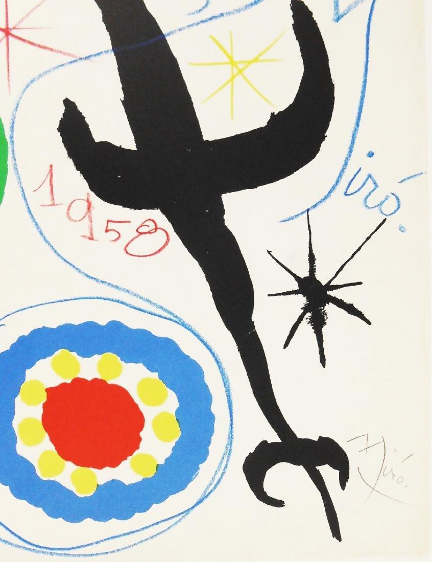 Joan Miro (1893-1983) Hand Embellished Print - 2