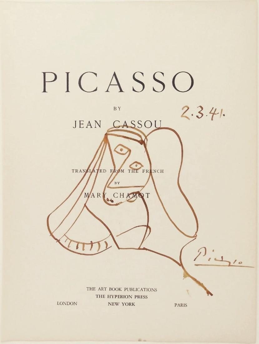 Pablo Picasso (1881-1973) Book Illustration