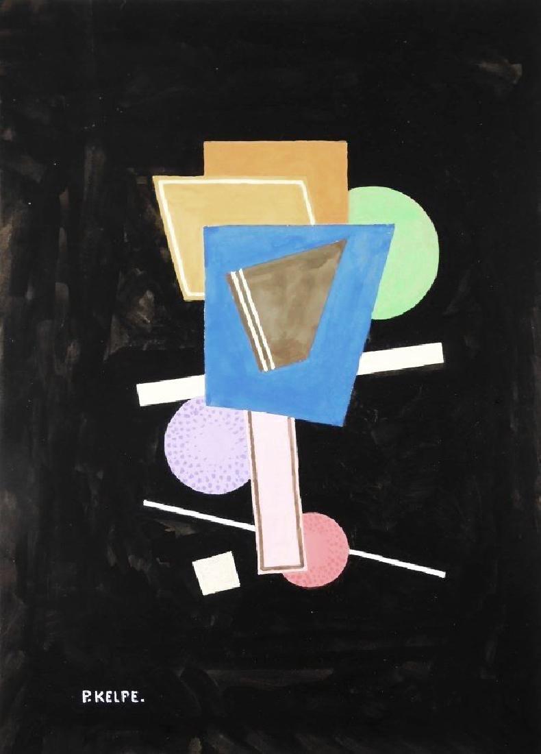 Paul Kelpe (1902-1985) Watercolor & Gouache
