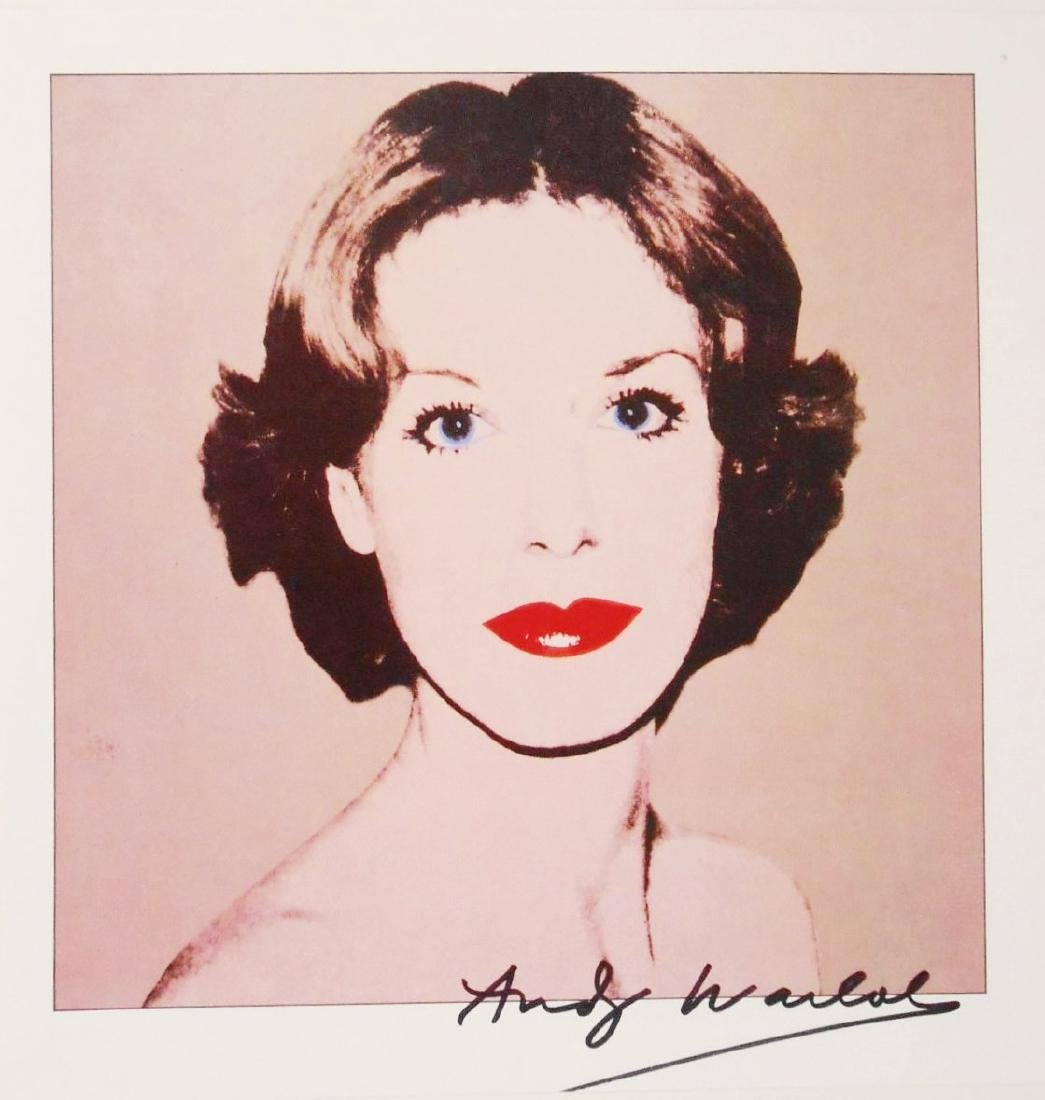 Andy Warhol (1928-1987) Signed Print