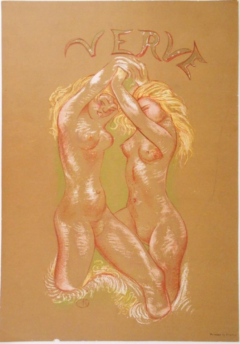 Aristide Maillol (1861-1944) Color Lithograph