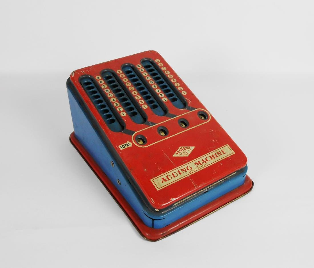 Wolverine Tin Adding Machine