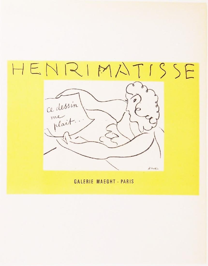 Henri Matisse (1869-1954) Color Lithograph