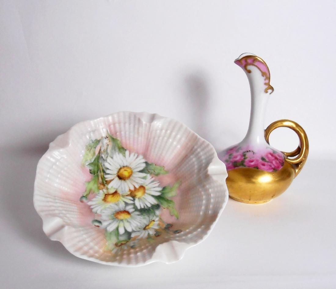Limoges Bowl & European Porcelain Ewer