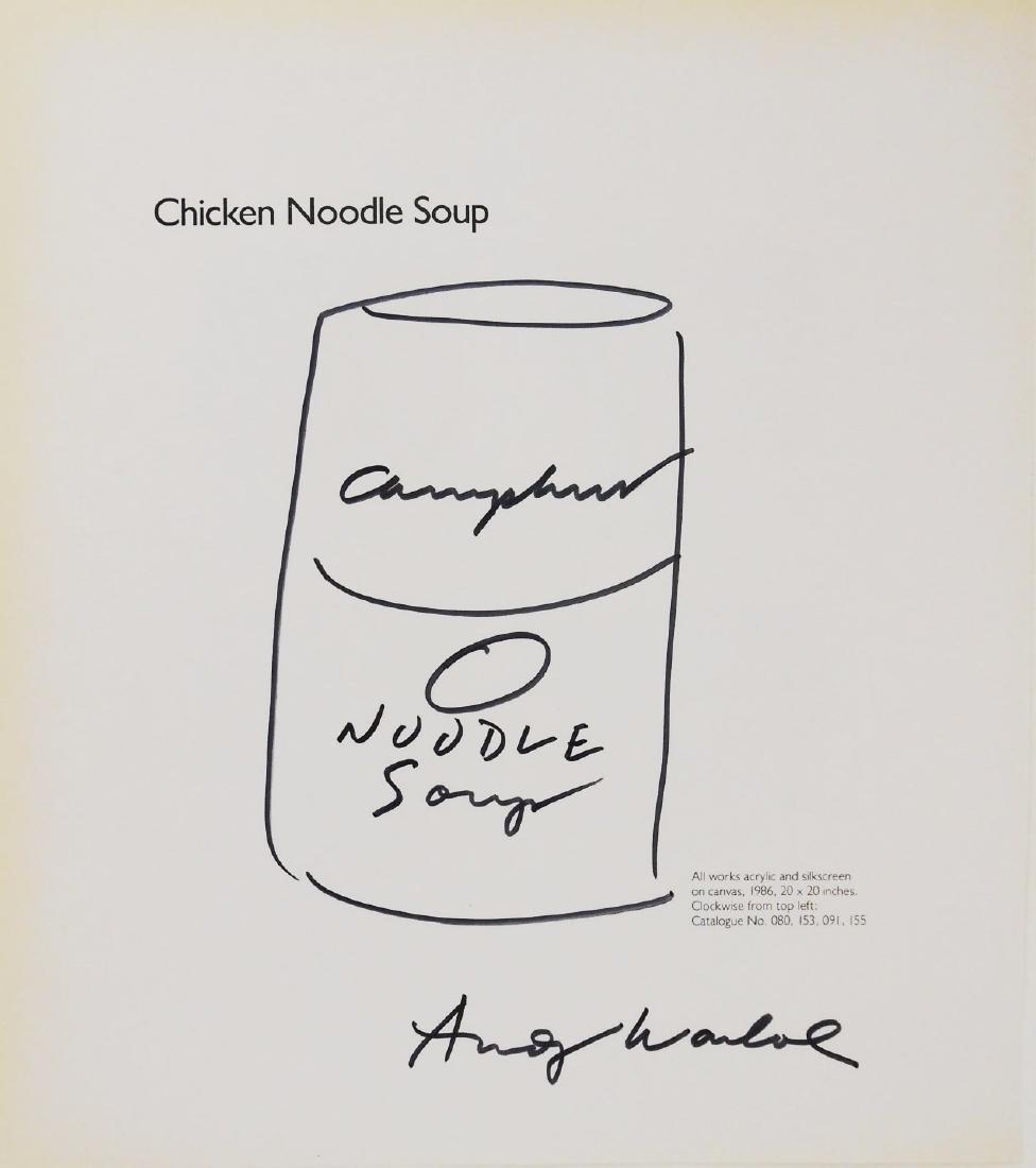 Andy Warhol (1928-1987) Souvenir Drawing