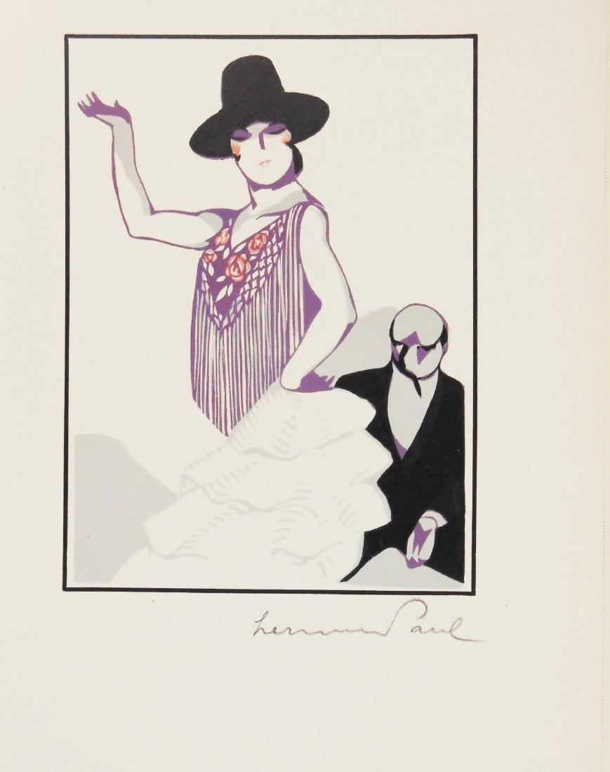 Hermann Paul (1864-1940) Color Woodcut, Signed - 2