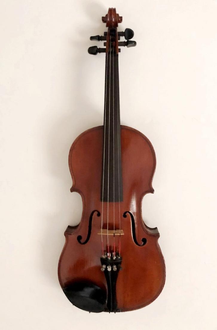 Henri Farny Violin With Glasser Bow