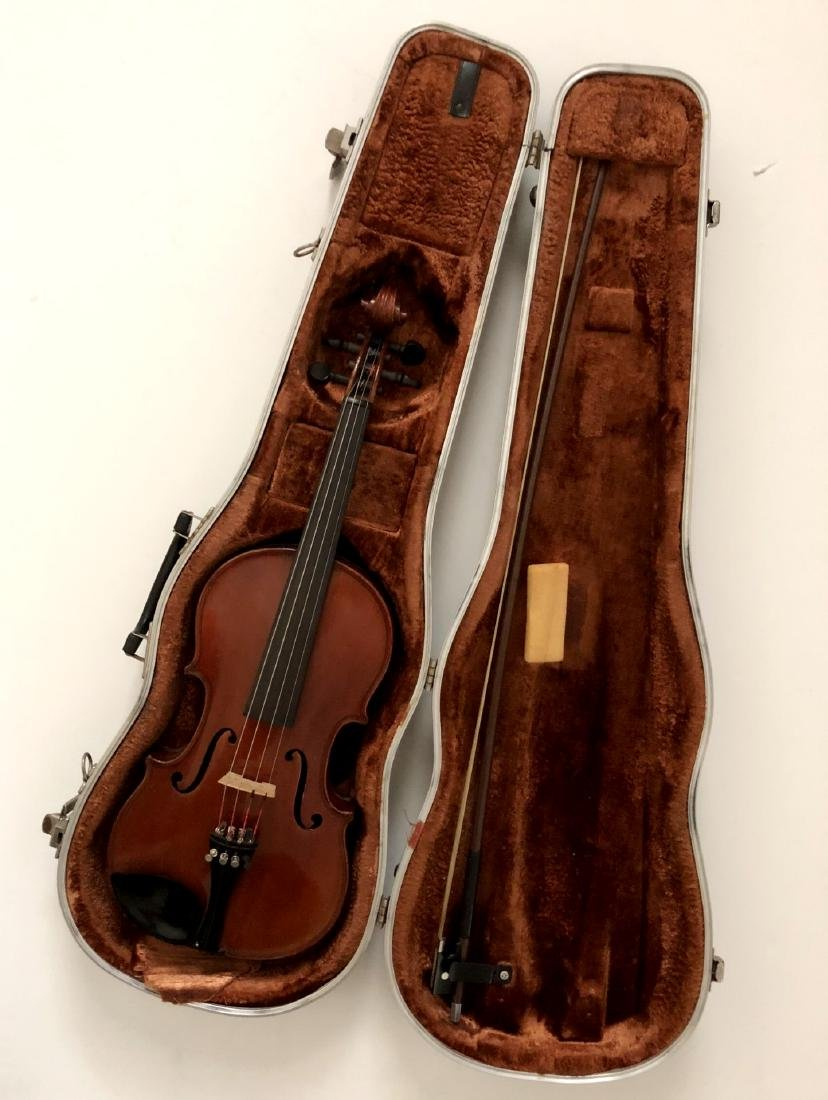 Henri Farny Violin With Glasser Bow - 3