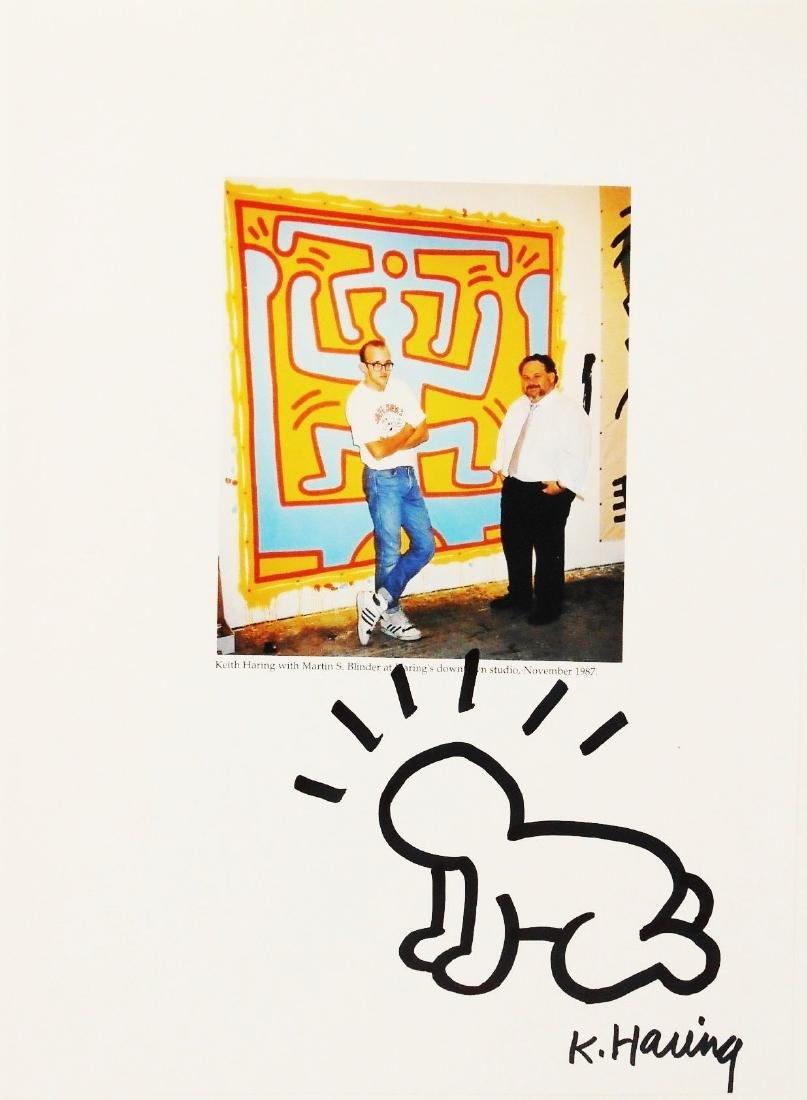Keith Haring (1958-1990) Souvenir Drawing