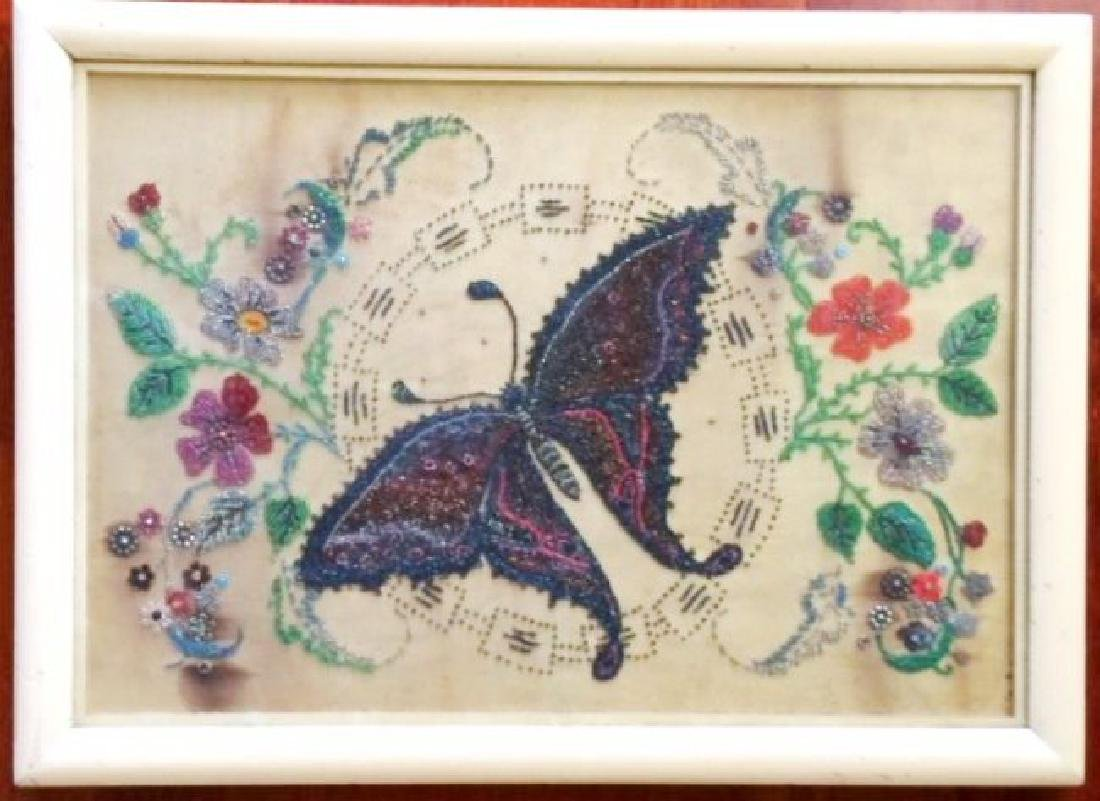 French Beadwork Picture