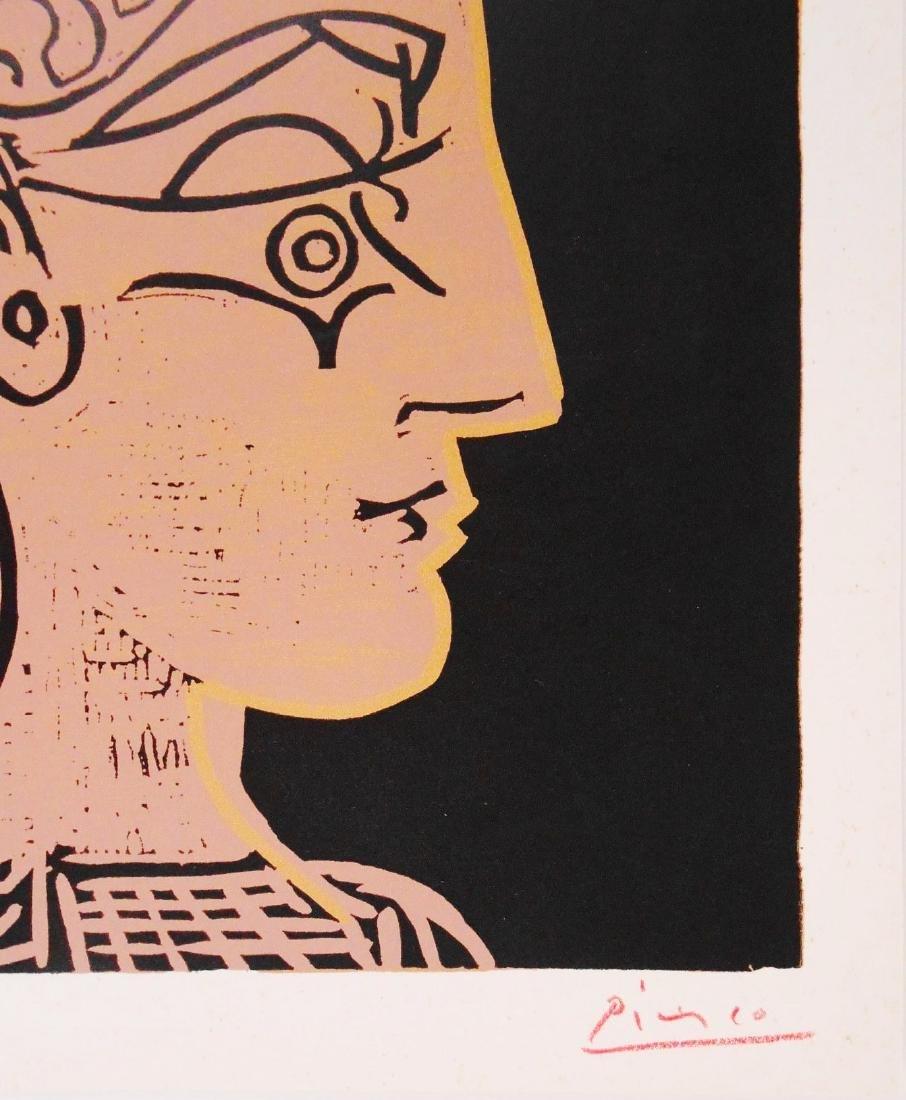 Pablo Picasso (1881-1973) Linoleum Cut - 2