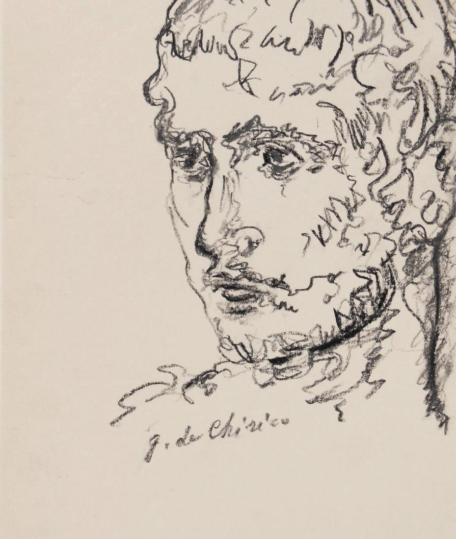 Giorgio De Chirico (1888-1978) Pencil Drawing - 2