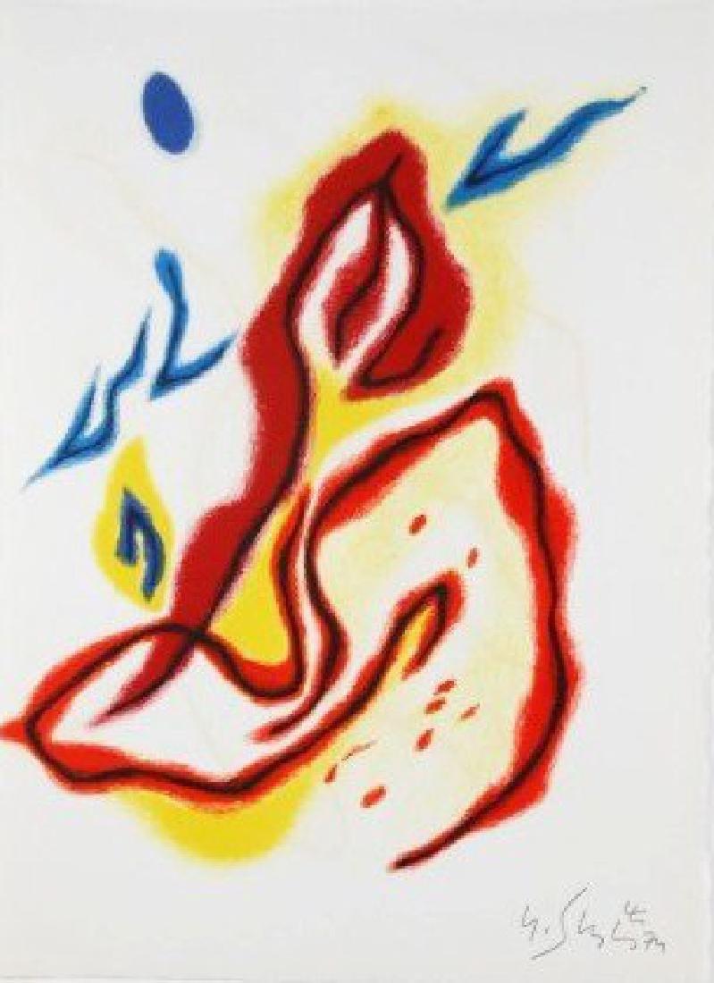 Gustav Singier (1909-1984) Signed Lithograph