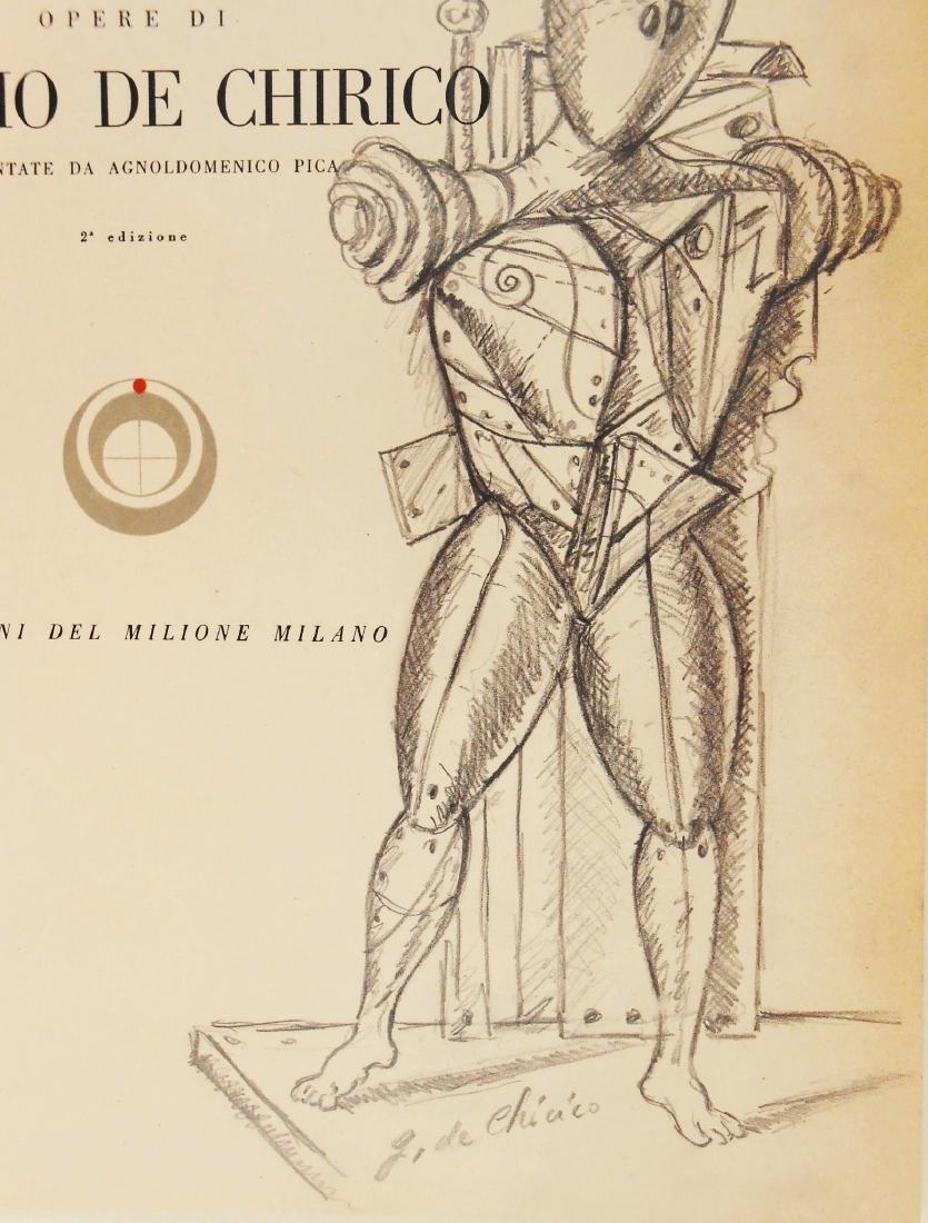 Giorgio De Chirico (1888-1978) Souvenir Drawing - 2
