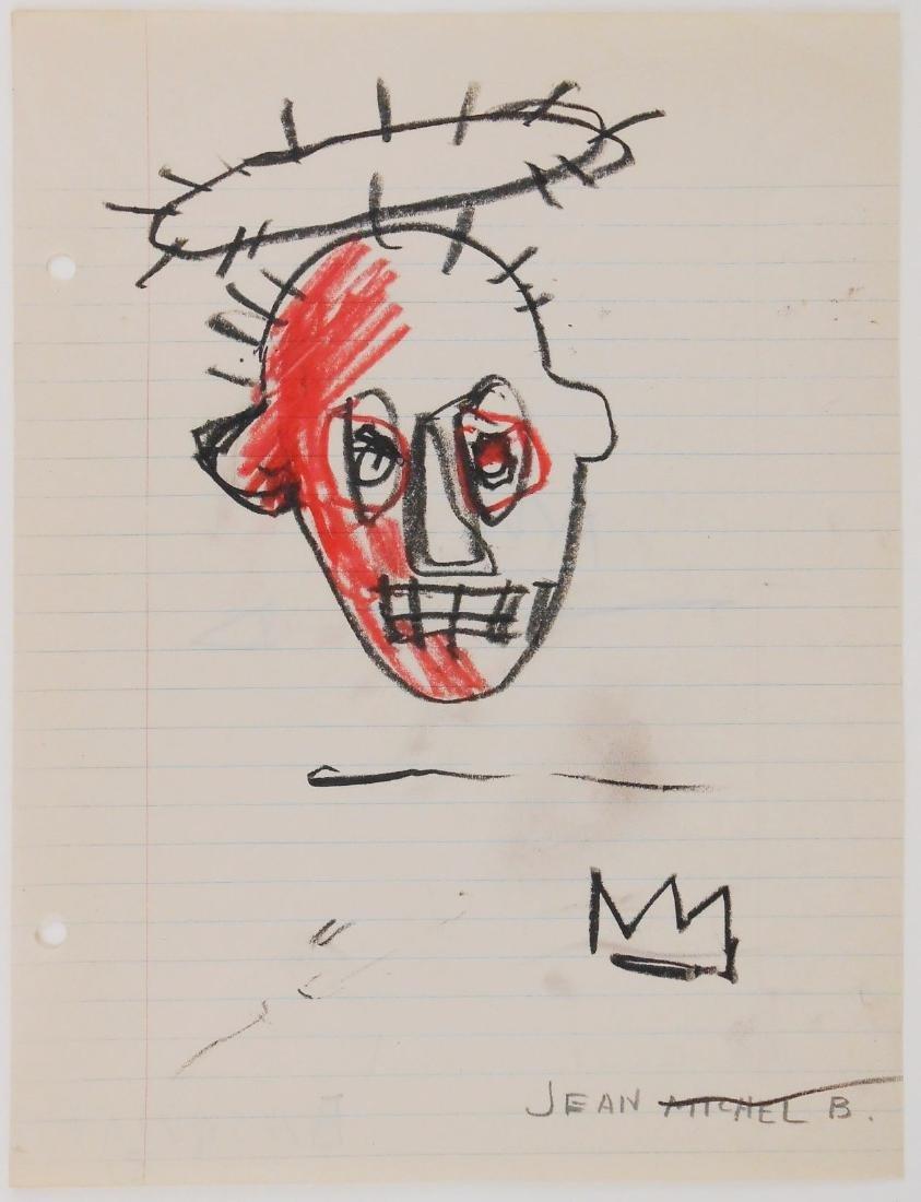 Jean-Michel Basquiat (1960-1988) Drawing