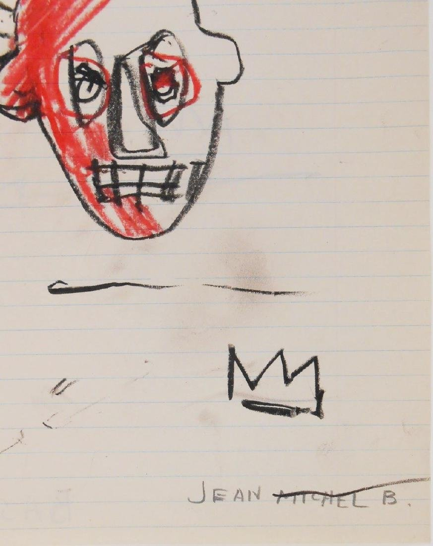 Jean-Michel Basquiat (1960-1988) Drawing - 2