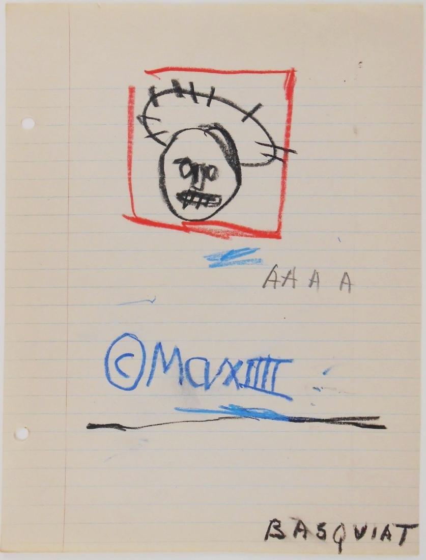 Jean-Michel Basquiat (1960-1988) Sketch