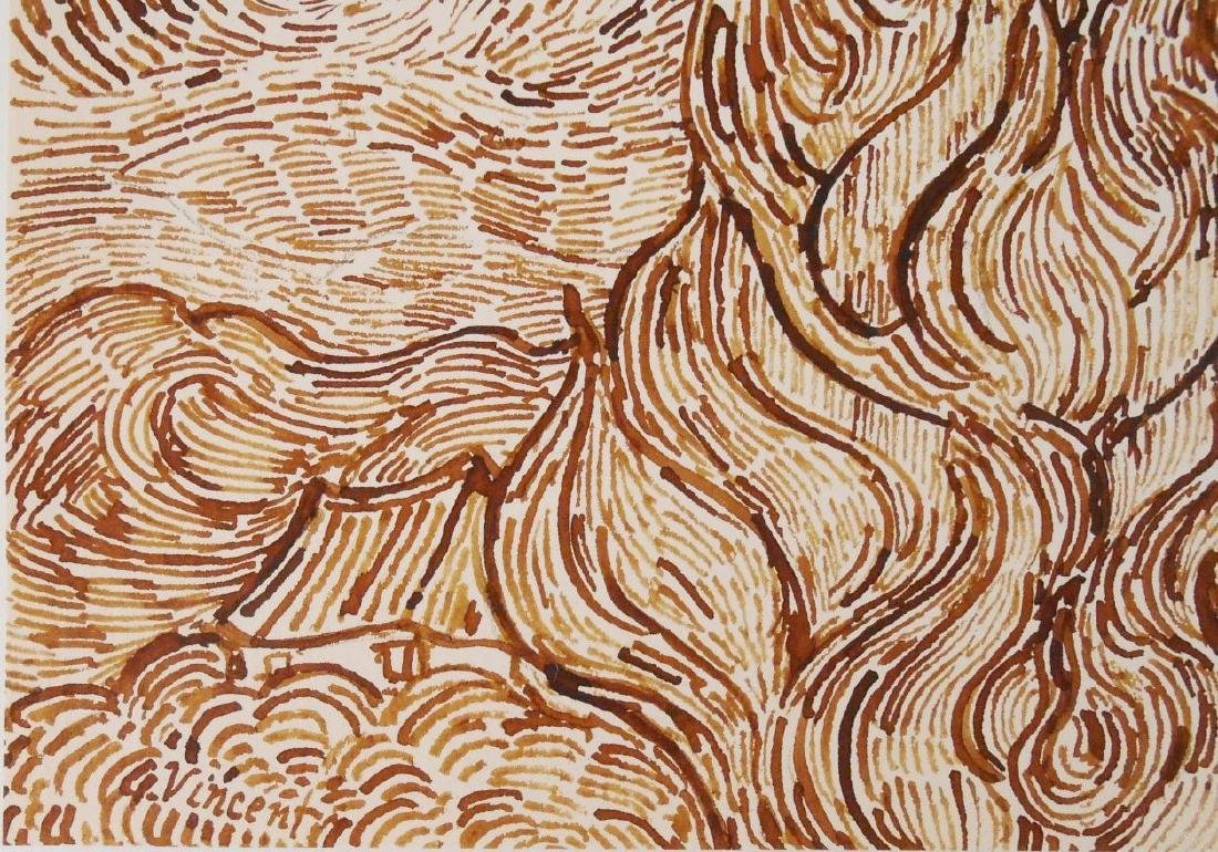 Vincent Van Gogh (1853-1890) Pen & Ink - 3
