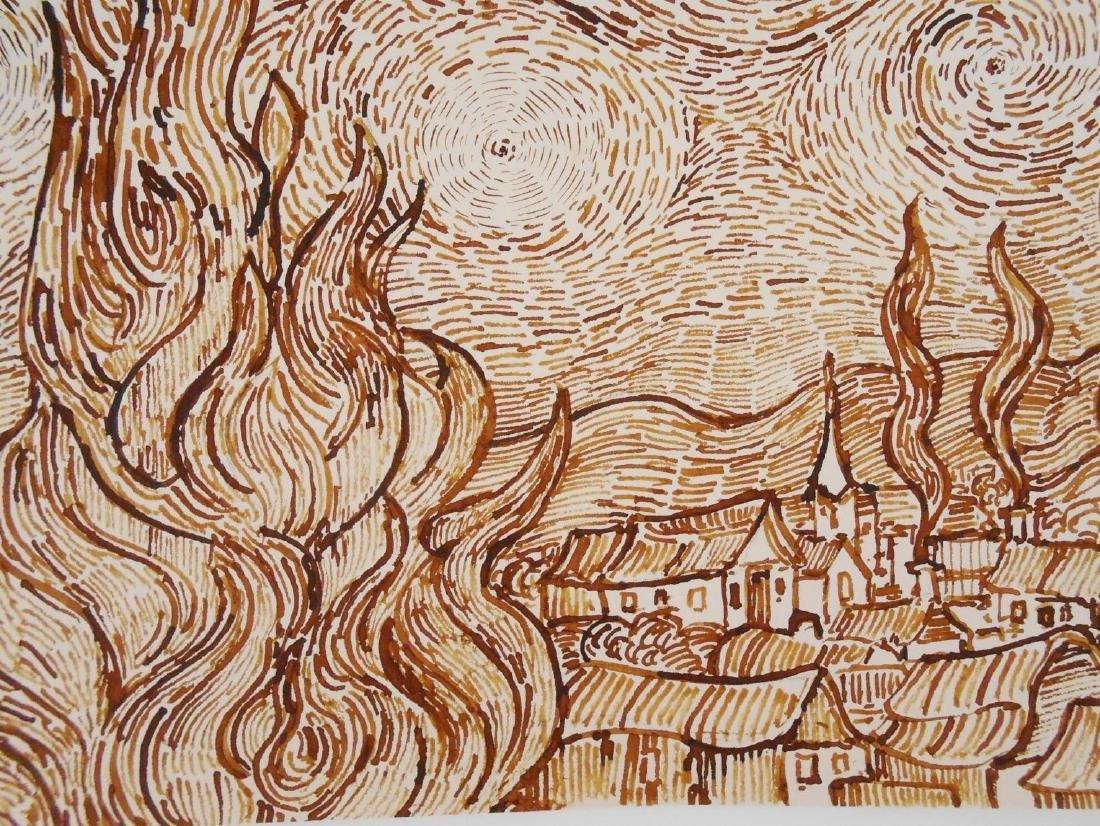 Vincent Van Gogh (1853-1890) Pen & Ink - 4