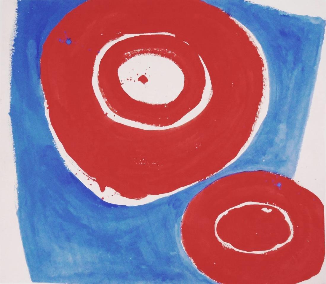 Jiro Yoshihara (1905-1972) Watercolor & Gouache
