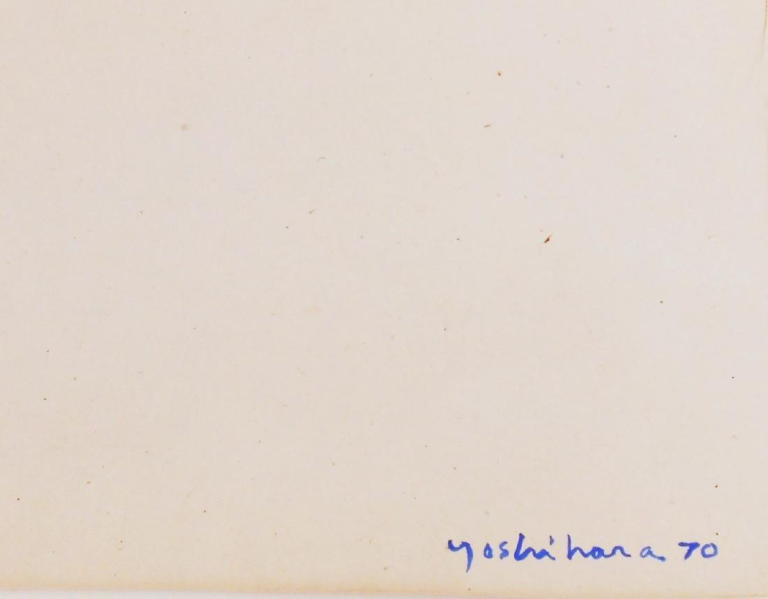 Jiro Yoshihara (1905-1972) Watercolor & Gouache - 3