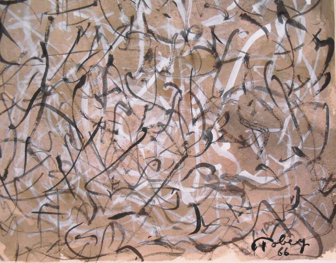 Mark Tobey (1890-1976) Gouache On Paper - 3