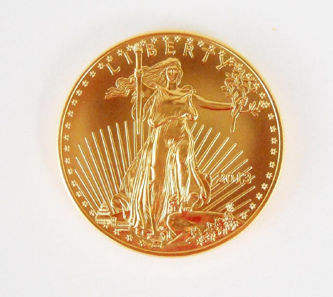 2013 1 Oz. Gold Eagle