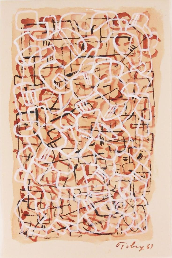 Mark Tobey (1890-1976) Gouache On Paper - 2