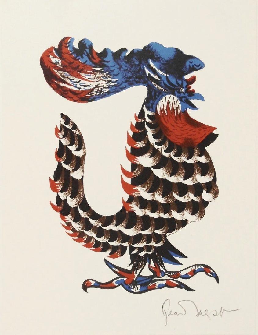 Jean Lurcat (1892-1966) Signed Color Lithograph