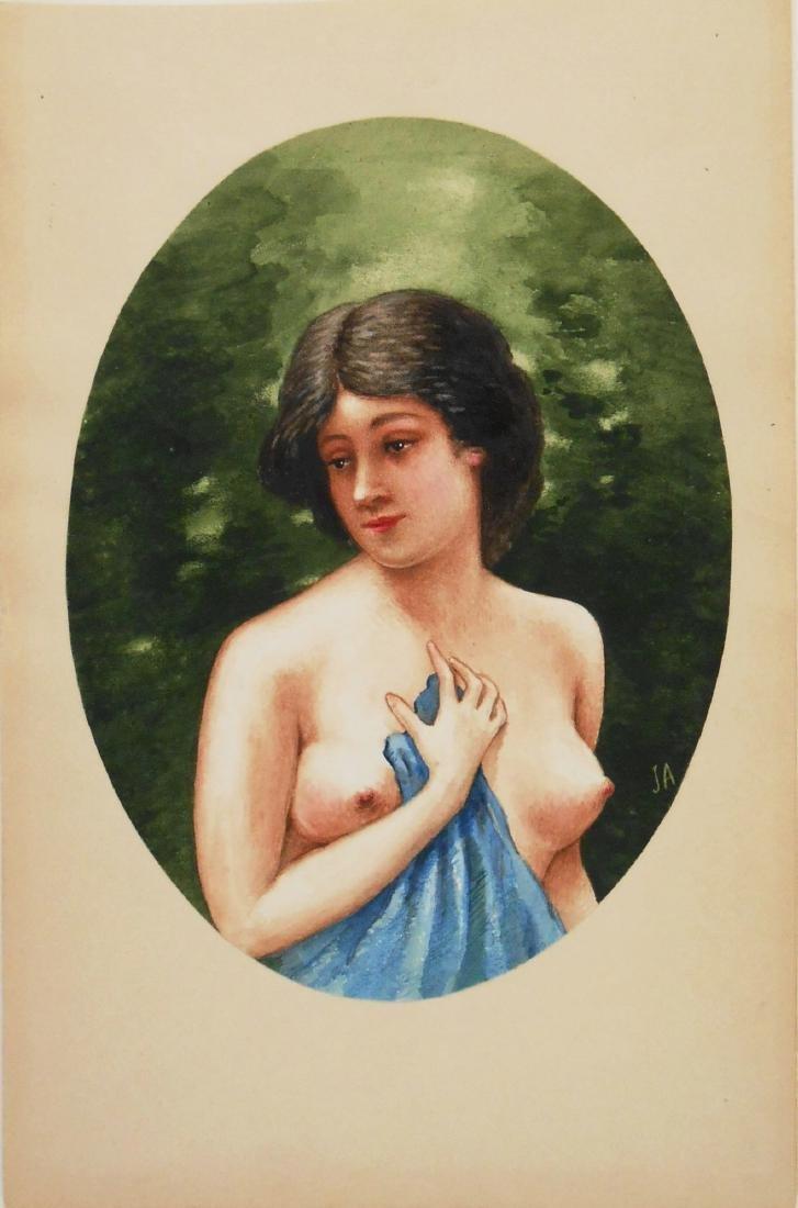 19th Century Italian Watercolor