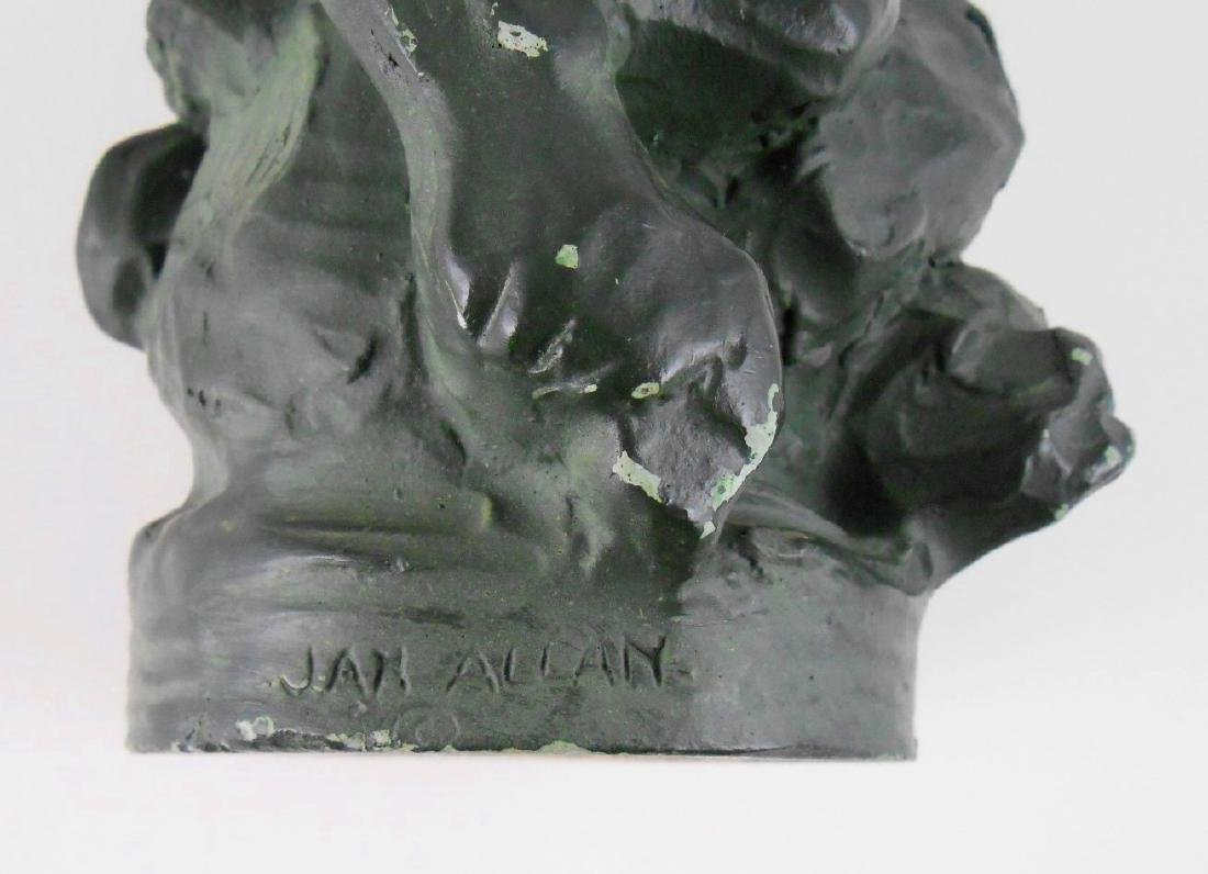 Faun Figure By Jan Allan - 2