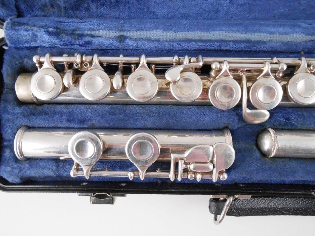 Selmer Silver Flute With Case - 2
