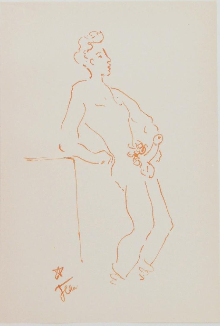 Jean Cocteau (1889-1963) Erotic Drawing