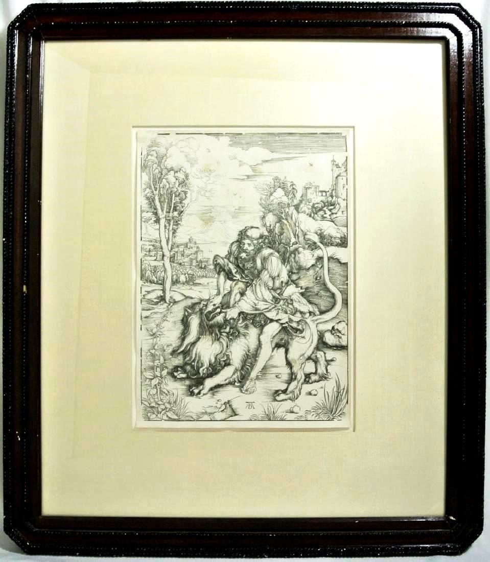 Albrecht Durer (1471-1528) Woodcut