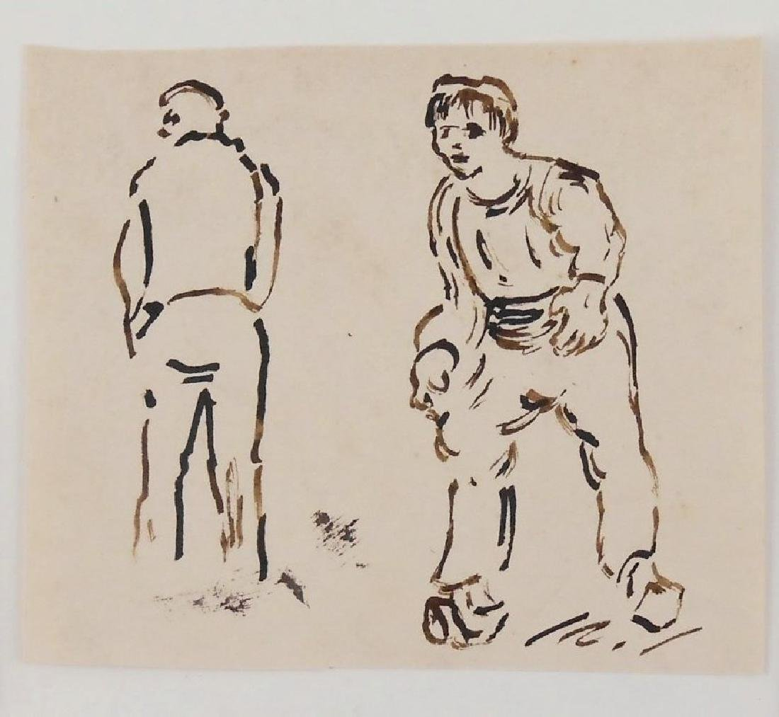 Vincent Van Gogh (1853-1890) Group Of Sketches - 2