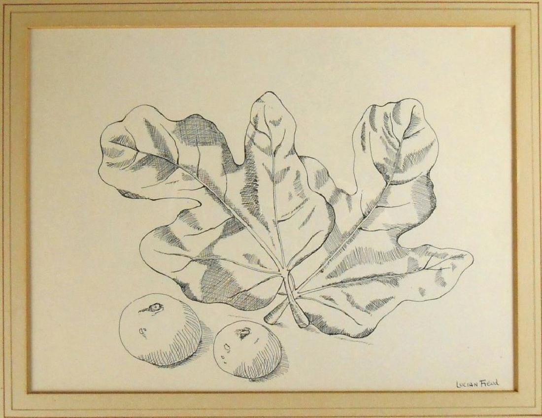 Lucian Freud (1922-2011) Pen & Ink Drawing - 2